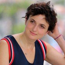 Cannes 2014: Alice Rohrwacher durante il photocall per Le meraviglie