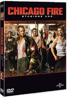 La cover del DVD di Chicago Fire - Stagione 1