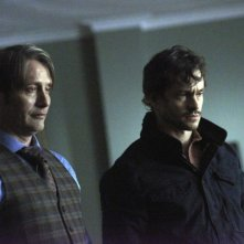 Hannibal: Mads Mikkelsen con Hugh Dancy nell'episodio Tome-wan
