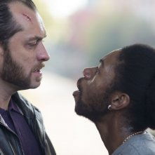 Dom Hemingway: Jude Law in una scena del film