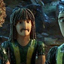Goool!: Capi, Beto e Loco in una scena del film d'animazione