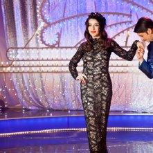 Pane e burlesque: Sabrina Impacciatore sul palco in una scena del film
