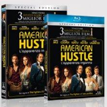 le cover degli homevideo di American Hustle