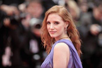Cannes 2014: il red carpet ospita Jessica Chastain durante la presentazione di Foxcatcher