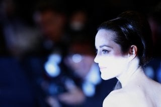 Cannes 2014: un primo piano di Marion Cotillard durante il red carpet di L'homme que l'on aimait trop