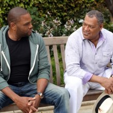 Black-ish: Laurence Fishburne in una scena