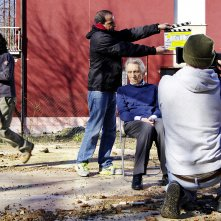Tellurica: Roberto Herlitzka sul set