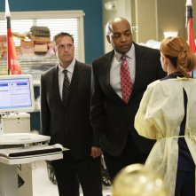Grey's Anatomy: Sarah Drew e Rick Worthy nell'episodio Fear (of the Unknown)