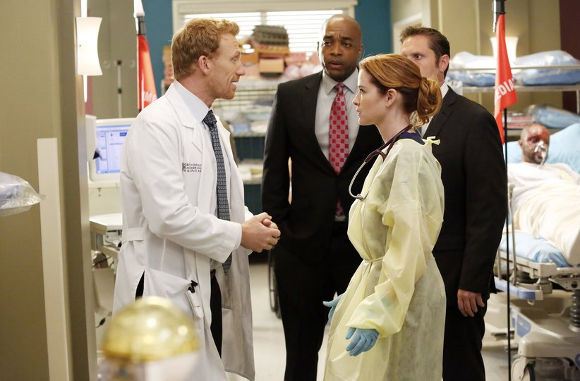 Grey's Anatomy: Kevin McKidd e Sarah Drew nell'episodio Fear (of the Unknown)