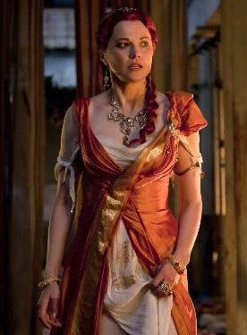 Una scena della terza stagione di Spartacus: sangue e sabbia