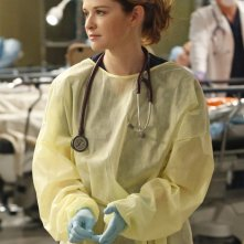 Grey's Anatomy: Sarah Drew nell'episodio Fear (of the Unknown)