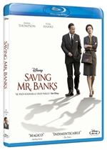 La cover del blu-ray di Saving Mr. Banks