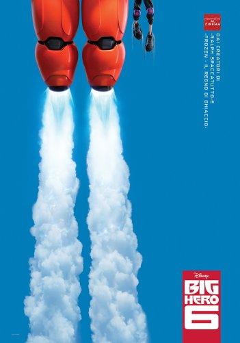Big Hero 6: il teaser poster italiano