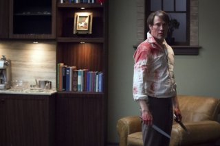 Hannibal: Mads Mikkelsen nell'episodio Mizumono
