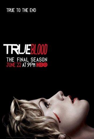 True Blood: Anna Paquin in un manifesto promozionale per la settima stagione della serie
