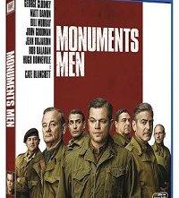 La cover del blu-ray di Monuments Men