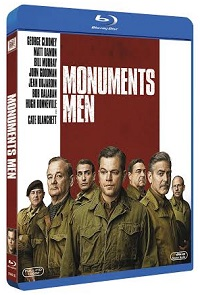 La cover del blu-ray di Monuments Men