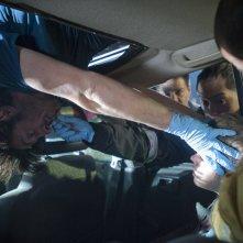 The Night Shift: Eoin Macken in una scena del primo episodio della serie