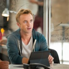 Murder in the First: Tom Felton in una scena