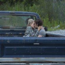 Un amore senza fine: Alex Pettyfer e Gabriella Wilde in una scena del film