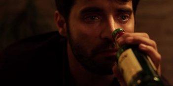 Assolo: Antonio De Matteo, protagonista del film, in una scena