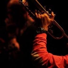 365 - Paolo Fresu, il tempo di un viaggio:Paolo Fresu in una scena del documentario musicale