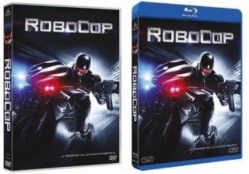 Le cover di DVD e Blu-ray di Robocop