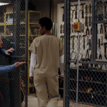 Orange Is the New Black: una scena dell'episodio Imaginary Enemies