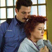 Orange Is the New Black: Kate Mulgrew in una scena dell'episodio Tall Men With Feelings