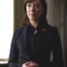 House of Cards: Molly Parker in una scena del political drama