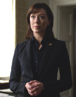 House of Cards: Molly Parker in una scena del political drama