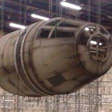 Star Wars: Episode VII, un primo dettaglio del Millennium Falcon