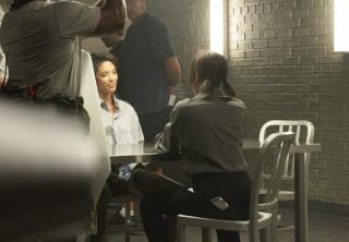 Sleepy Hollow: Nicole Beharie durante le riprese della seconda stagione