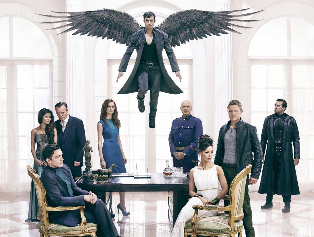 Dominion: il cast in un'immagine promozionale