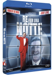 La cover del blu-ray di Re per una notte