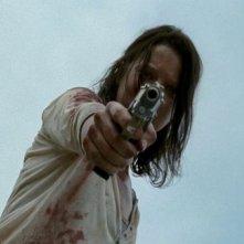 The Walking Dead: Audrey Marie Anderson in una drammatica scena dell'episodio Indietro non si torna