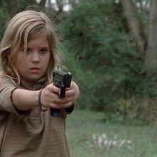 The Walking Dead: Kyla Kenedy è Mika nell'episodio Il bosco