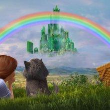 Il magico mondo di Oz: Dorothy con il suo cagnolino Toto in una scena del film