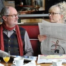 Le Week-end: Jim Broadbent e Lindsay Duncan in una scena