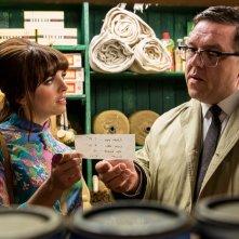Mr. Sloane: Ophelia Lovibond insieme a Nick Frost in una scena
