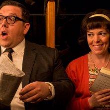 Mr. Sloane: Nick Frost e Olivia Colman in una scena della serie