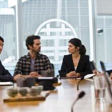 Rompicapo a New York: Romain Duris con Audrey Tautou in una scena