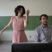 Gabrielle - Un amore fuori dal coro: Gabrielle Marion-Rivard con Alexandre Landry in una scena del film