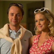 Mad Men: Vincent Kartheiser e Jessy Schram nell'episodio Time Zones