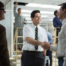 Mad Men: Jon Hamm, Robert Baker e Harry Cranek nell'episodio The Monolith