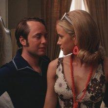 Mad Men: Vincent Kartheiser e Jessy Schram nell'episodio The Strategy