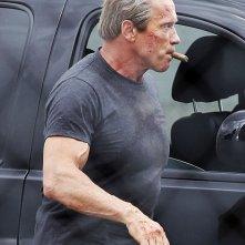 Schwarzenegger sul set Terminator: Genesis