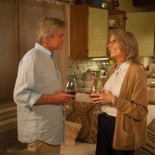 Mai così vicini: Michael Douglas e Diane Keaton in una scena del film