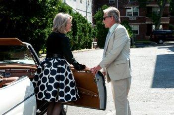 Mai così vicini: Michael Douglas con Diane Keaton in una scena del film