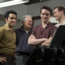 Jersey Boys: Erich Bergen, Vincent Piazza e John Lloyd Young sul set con Clint Eastwood